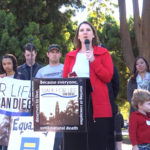 Charmaine Yoest speaking at the San Diego Walk for Life – 2013