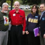 Organizing Committee - Kent Peters, Hugh Largey, Dr. Jennifer Roback Morse, and Scott Maxwell