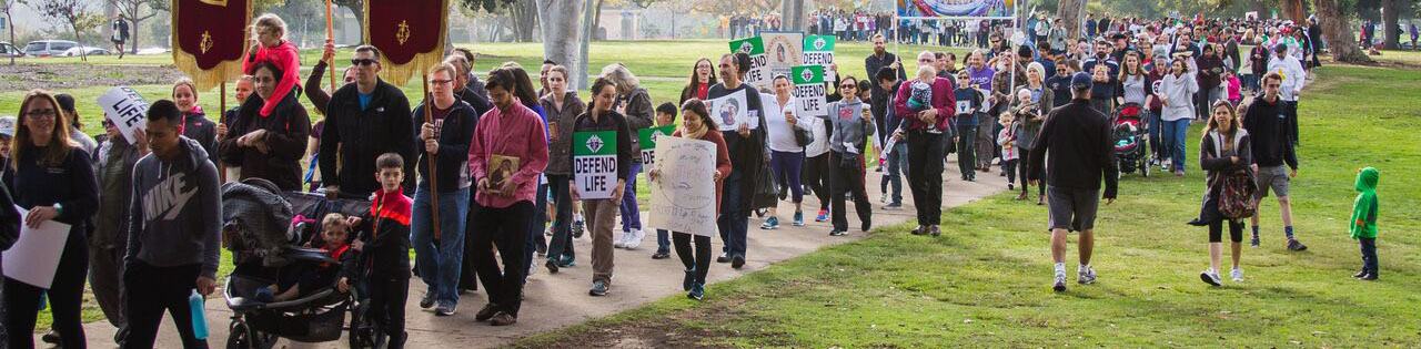 San Diego Walk For Life – Photo by: Zack Maxwell